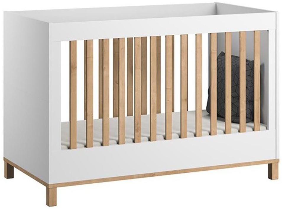Vox 'Altitude' Babybett weiß / natur Bild 1