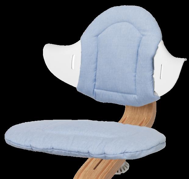 Evomove 'Nomi Cushion' Sitzkissen für Hochstuhl, Pale Blue Bild 1
