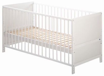 Alvi 'Jens' Kindersprossenbett - Buche weiß - 70x140 Weiß Bild 1