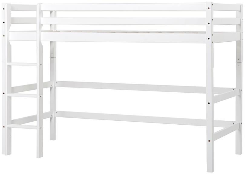 Hoppekids 'Basic' Halbhochbett weiß, 90x200 cm Bild 1