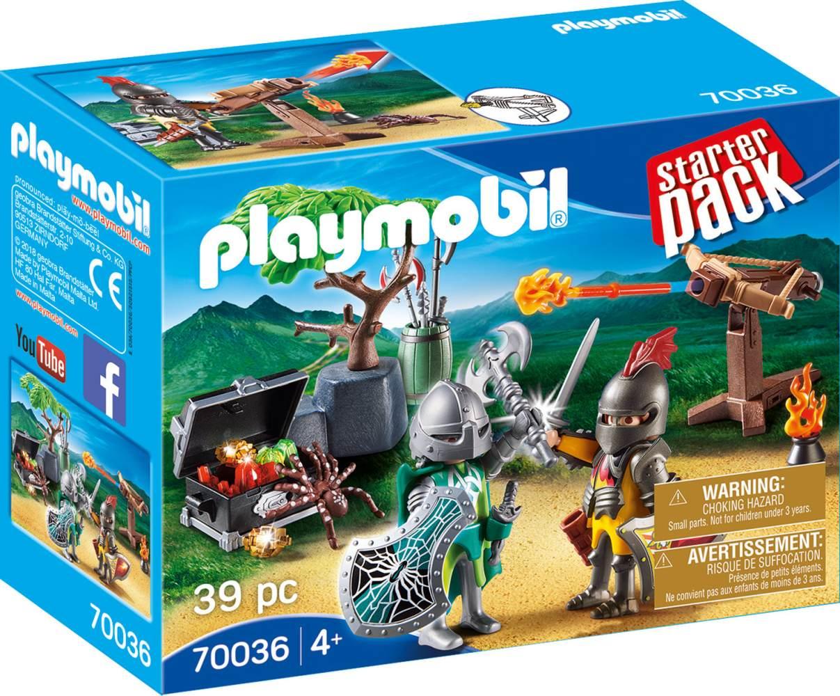 Playmobil Knights 70036 'StarterPack Kampf um den Ritterschatz', 39 Teile, ab 4 Jahren Bild 1