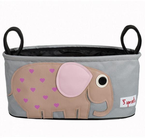 3Sprouts - Kinderwagentasche Elefant Bild 1