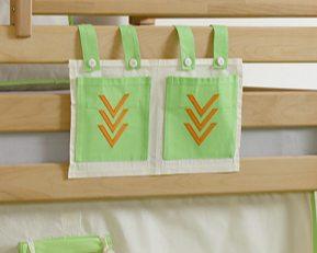Stofftasche Seitentasche Hängetasche für Hochbett Etagenbett Indianer Bild 1