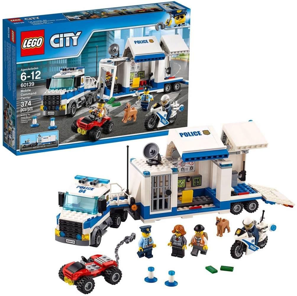 LEGO City 60139 Polizei - Mobile Einsatzzentrale, Konstruktionsspielzeug Bild 1