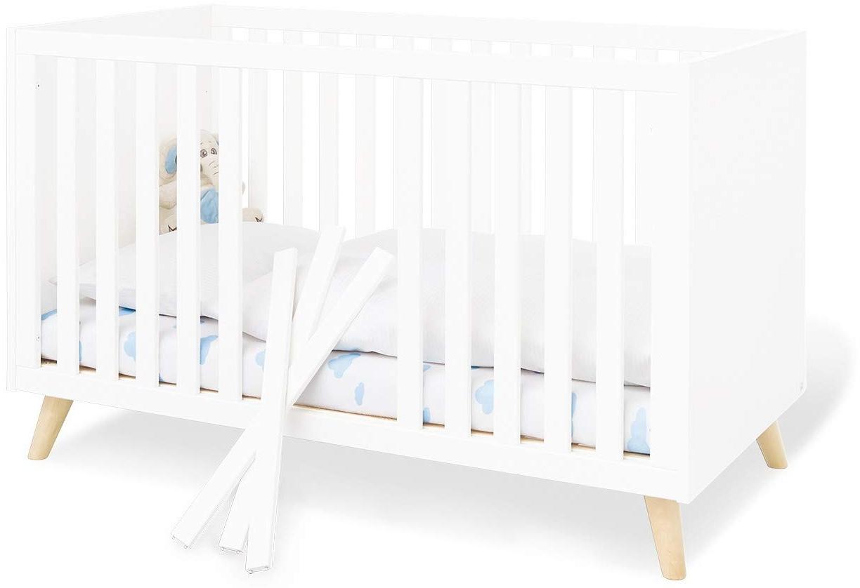 Pinolino 'Move' Kinderbett weiß Bild 1