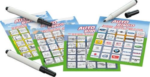 Schmidt Spiele 51434 Auto-Bingo, Bring Mich mit Spiel in der Metalldose, bunt Bild 1