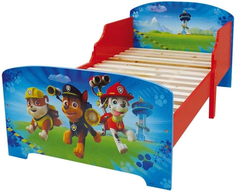 Fun House 'Paw Patrol' Kinderbett 70x140 cm, inkl. Lattenrost Bild 1
