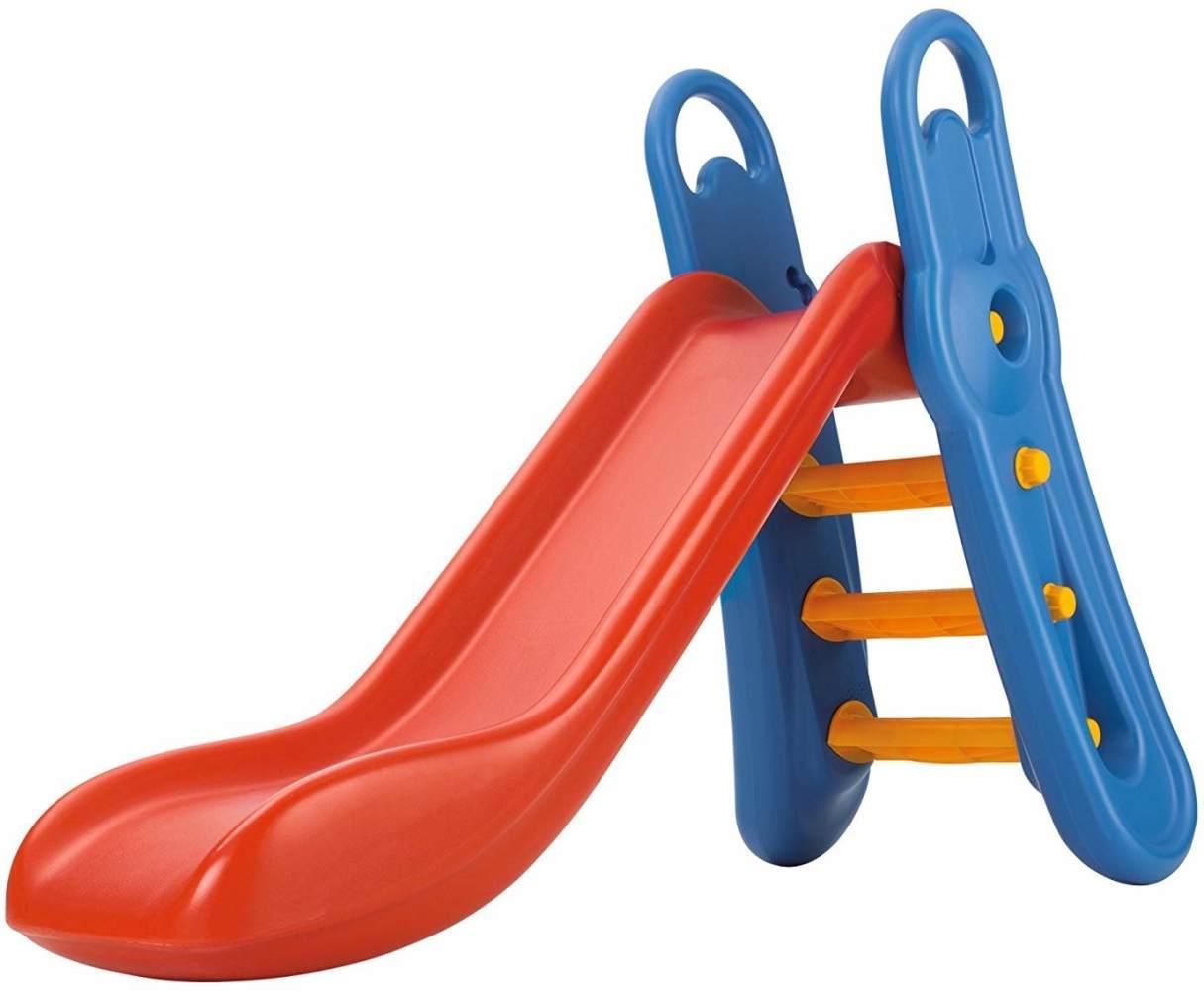Big 'Fun-Slide' Rutsche, rot/blau, 164 x 73 x 116 cm, ab 3 Jahren, höhenverstellbar, zusammenklappbar Bild 1