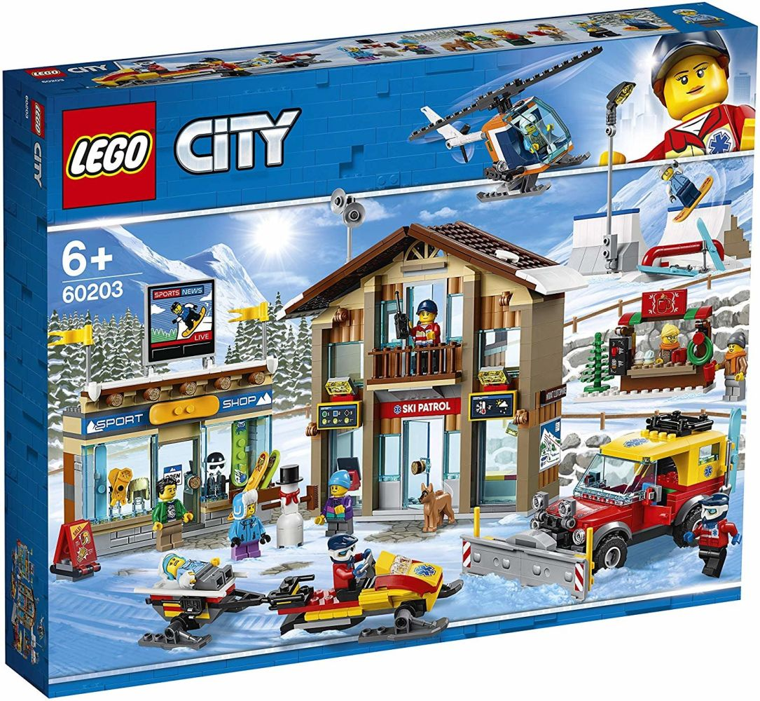 LEGO City - Ski Resort 60203 Bild 1