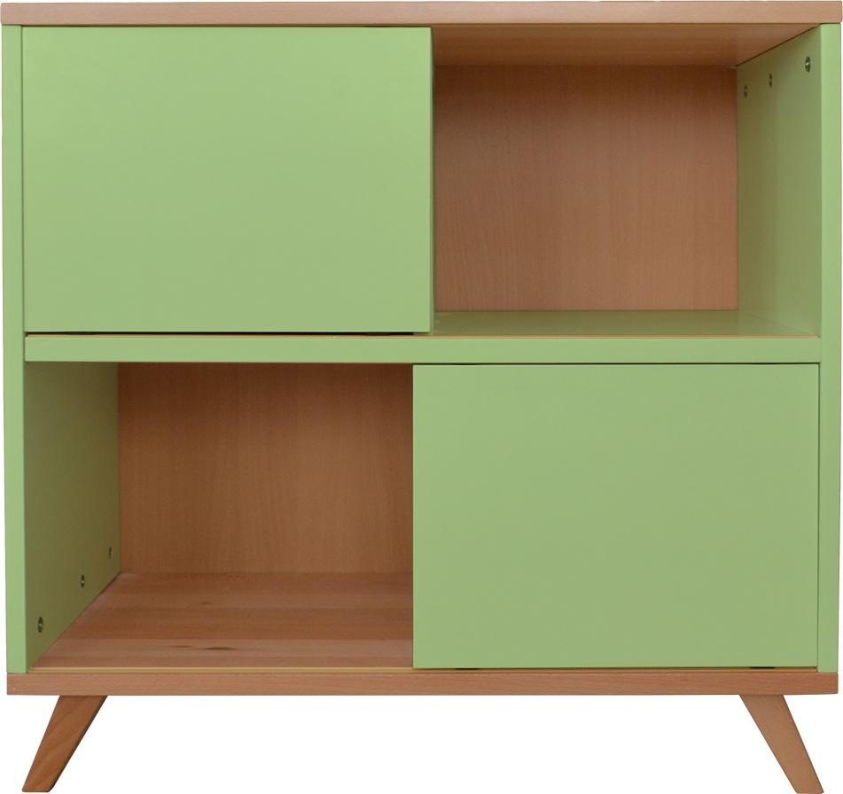 Mobi Furniture Kommode Buche grün Bild 1