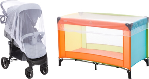 Fillikid Mückennetz für Kinderwagen, Sportwagen Bild 1