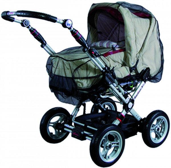 Sunnybaby 10369 Insektenschutznetz für Kinderwagen, komplett geschlossenes Modell - Farbe: SCHWARZ Bild 1