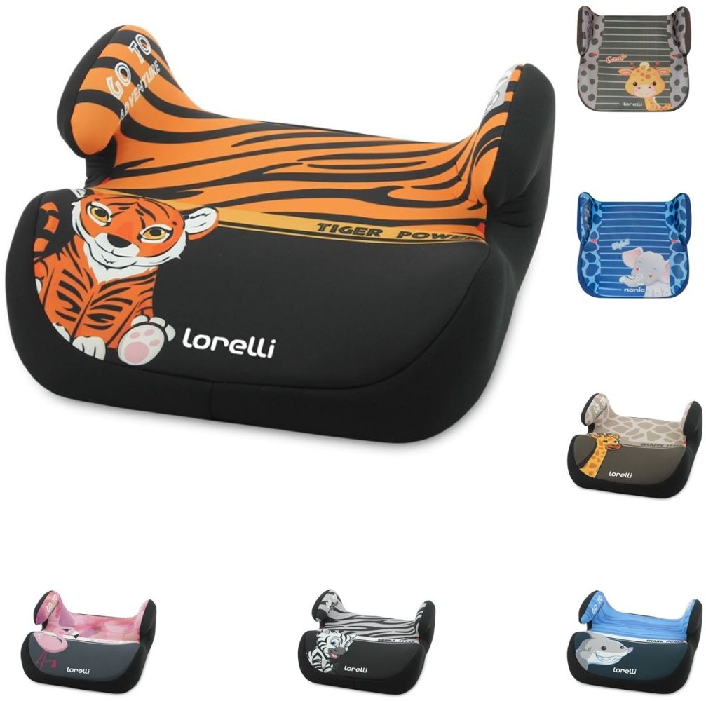 Lorelli Autositz Topo Comfort Gruppe 2/3 (15-36 kg) Tiger Bild 1