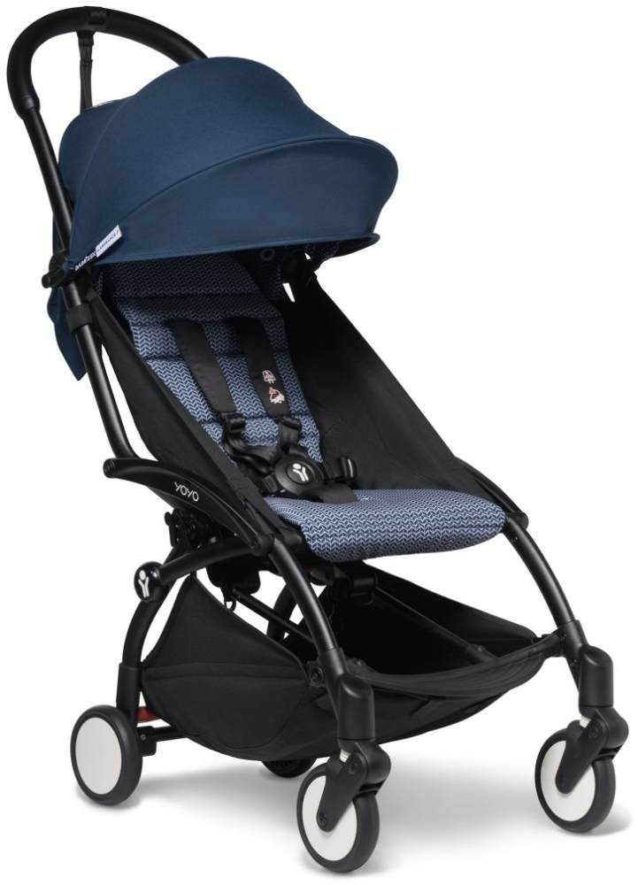 Babyzen 'YOYO²' Buggy Schwarz/Air France Blue Bild 1