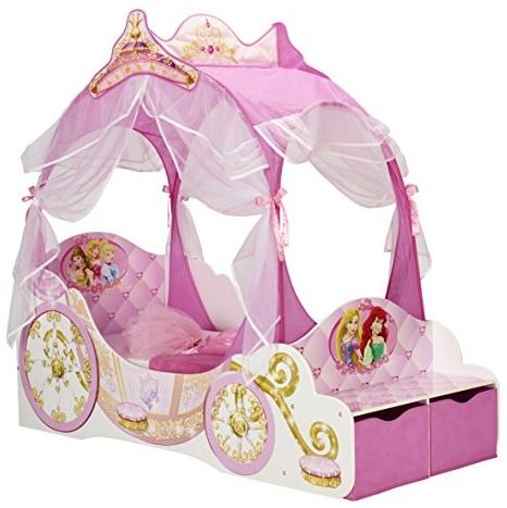 Moose Toys Disney Prinzessin Kutschenbett 70x140 inkl. Baldachin Bild 1
