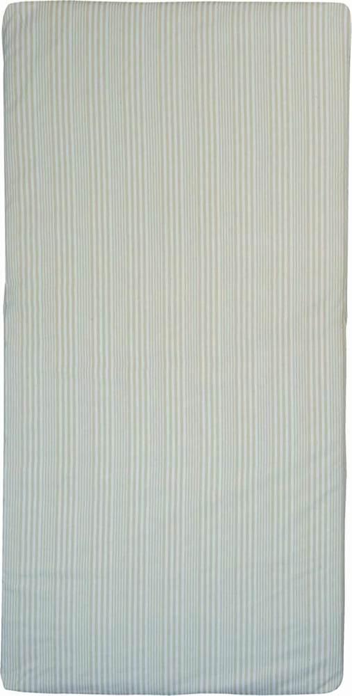 Candide rollbare Reiseauflage - beige/weiß gestreift 60x120 Bild 1