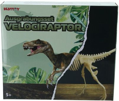 Besttoy - Ausgrabungsset Velociraptor Bild 1