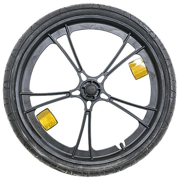 Burley Unisex– Erwachsene Laufrad-3091996606 Laufrad, Schwarz, One Size Bild 1