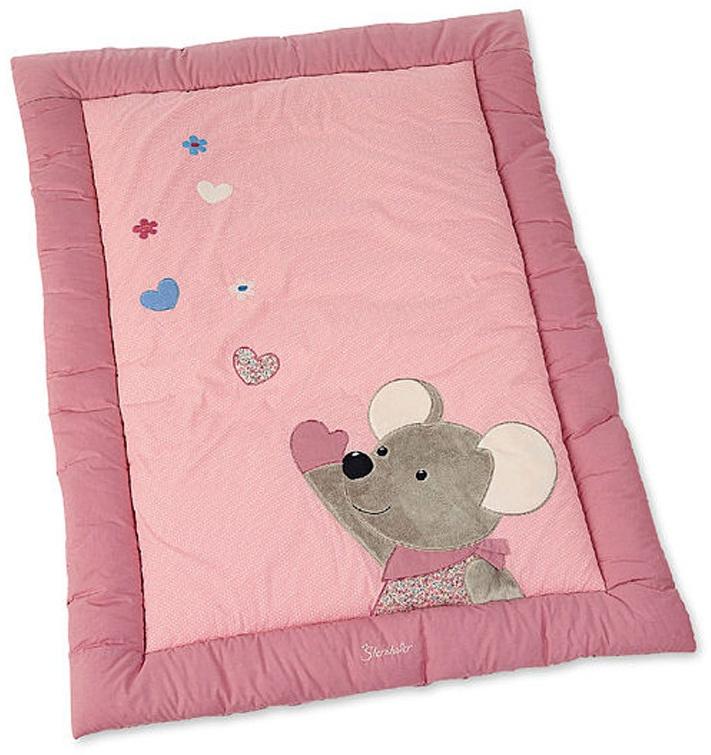 Bieco Kuscheldecke Elefanten pink TOP