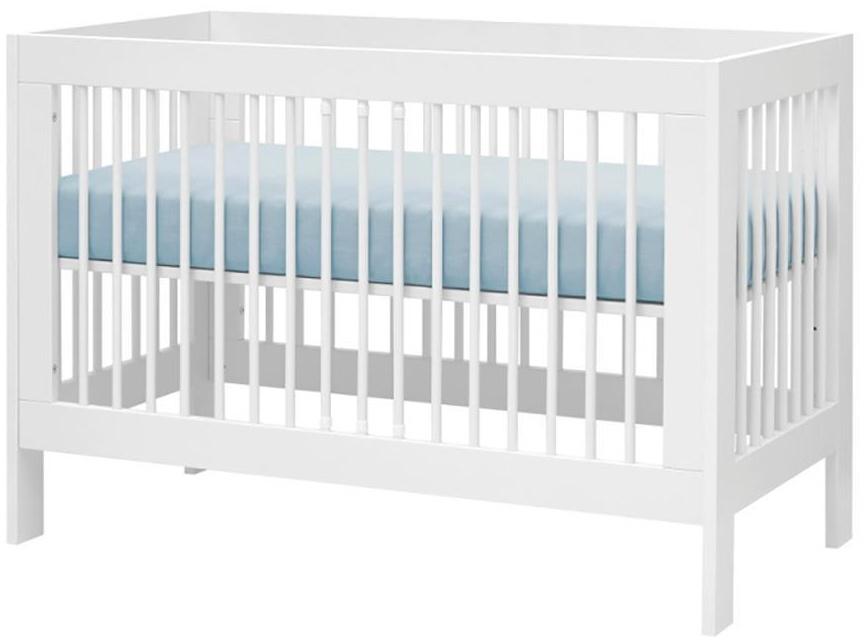 Pinio 'Basic' Kombi-Kinderbett weiß, 60 x 120 cm Bild 1