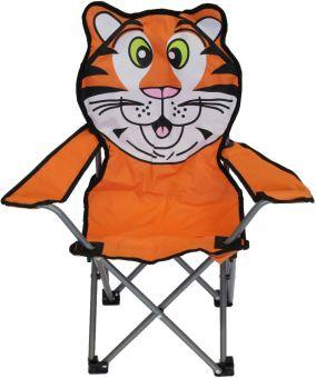 Kinderstuhl - Tiger - klappbar, orange Bild 1