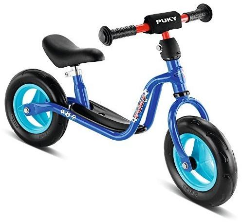 PUKY 4055 'LR M' Laufrad, für Kinder ab 85 cm Körpergröße, bis 25 kg belastbar, höhenverstellbar, blau / Fußball Bild 1