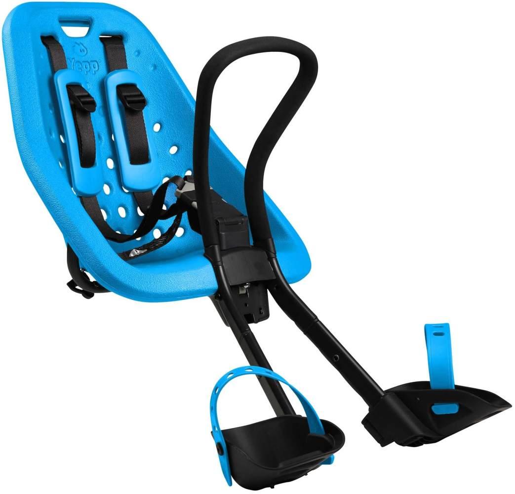 Thule 'Yepp Mini' Front-Kinderfahrradsitz blau, bis 15 kg Bild 1
