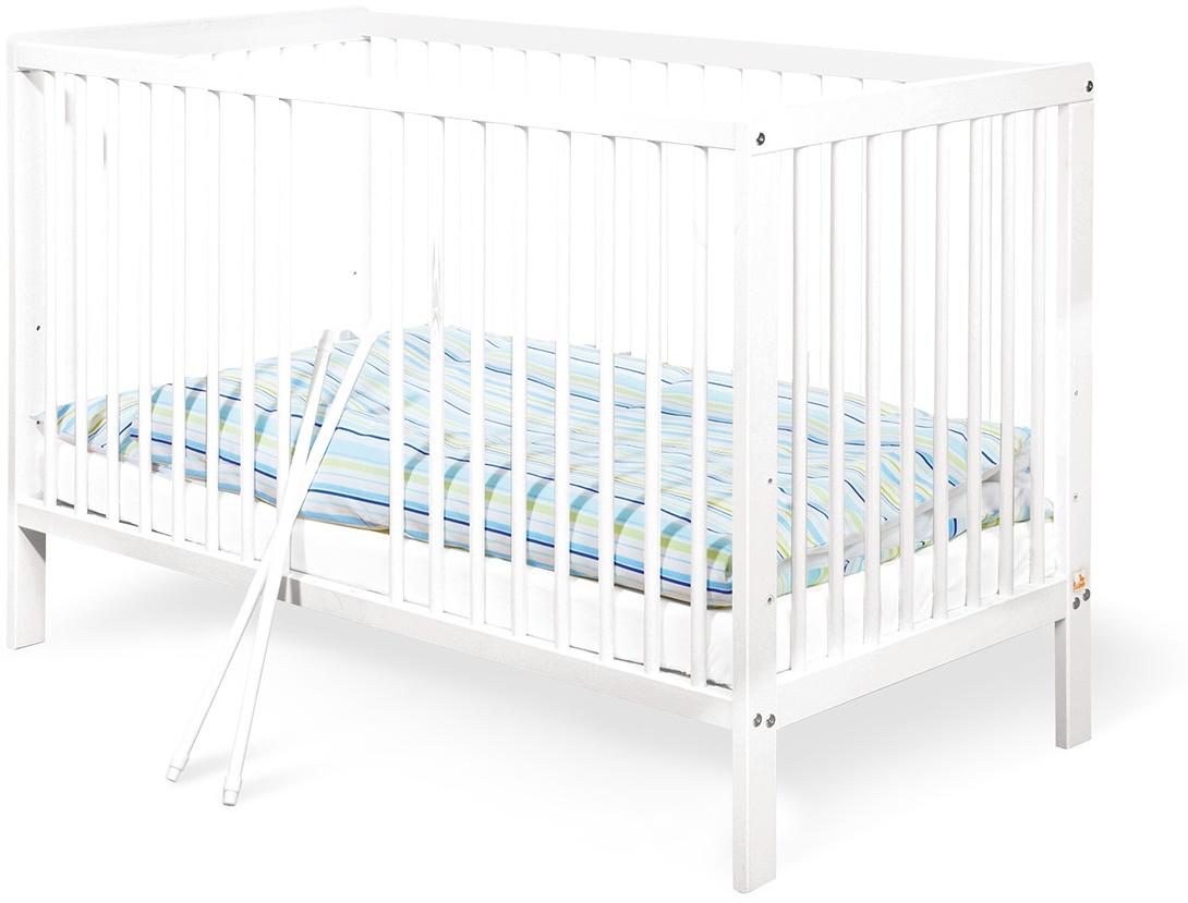 Pinolino 'Lenny' Kinderbett weiß, 60x120 cm Bild 1