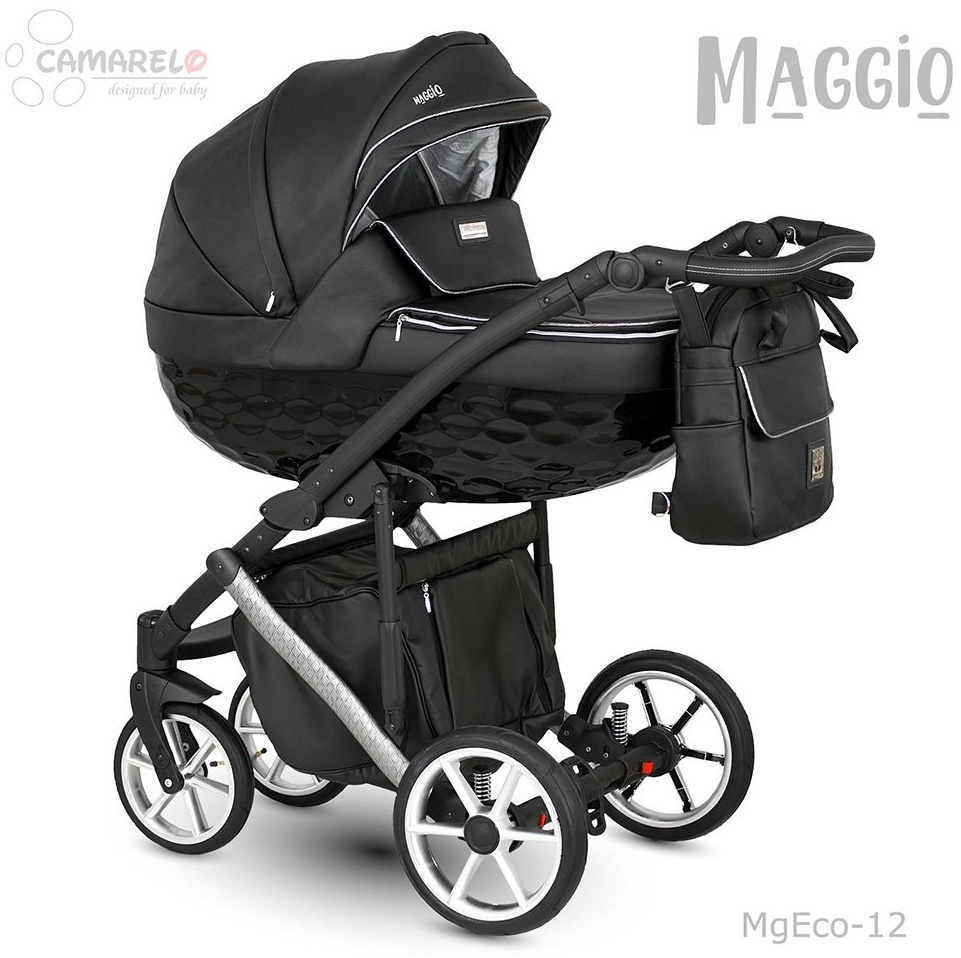 Camarelo Maggio 3in1 Kombikinderwagen MgEco-12 schwarz/Silber (Eco) Bild 1