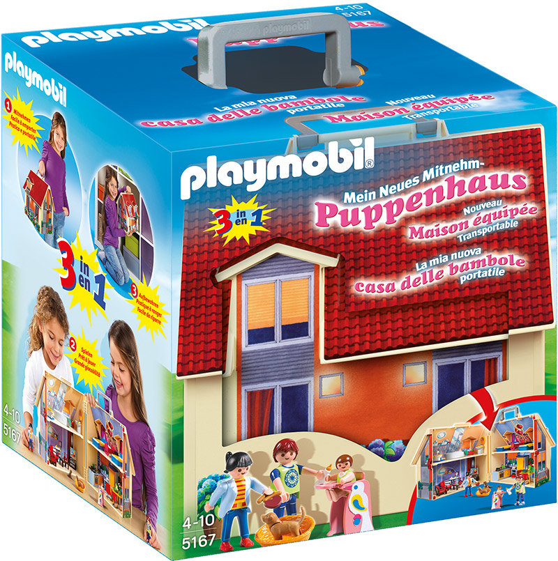 PLAYMOBIL - Neues Mitnehm-Puppenhaus 5167 Bild 1