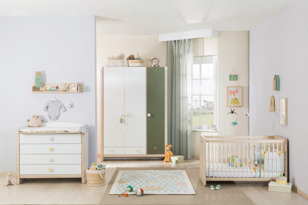 Cilek 'Montes' 4-tlg. Babyzimmer-Set Bild 1