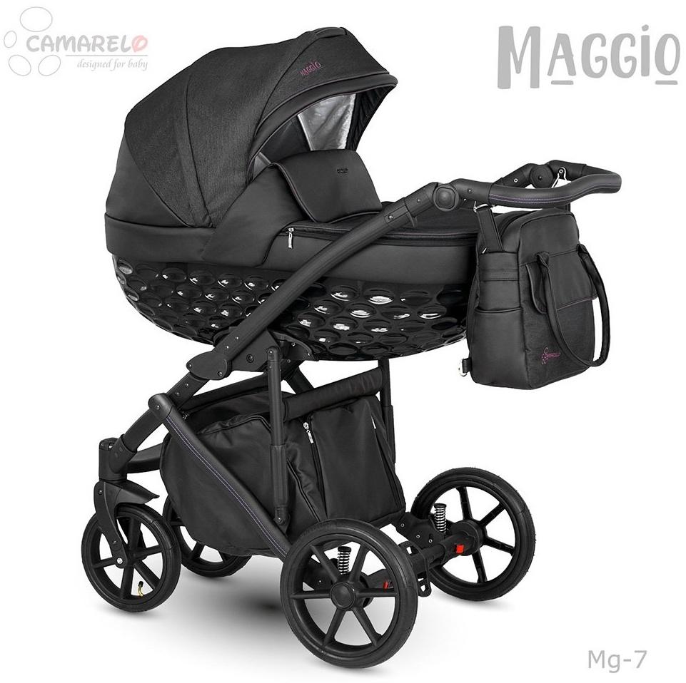 Camarelo Maggio Kombikinderwagen Mg-7 schwarz/ schwarz Bild 1