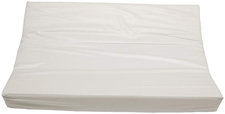 Jollein - Wickelkissen 50x70cm weiß - Standart Wickelunterlage für die Wickelkommode - Wickelmulde für Babys - Wickelauflage aus Baumwolle & Polyester Bild 1