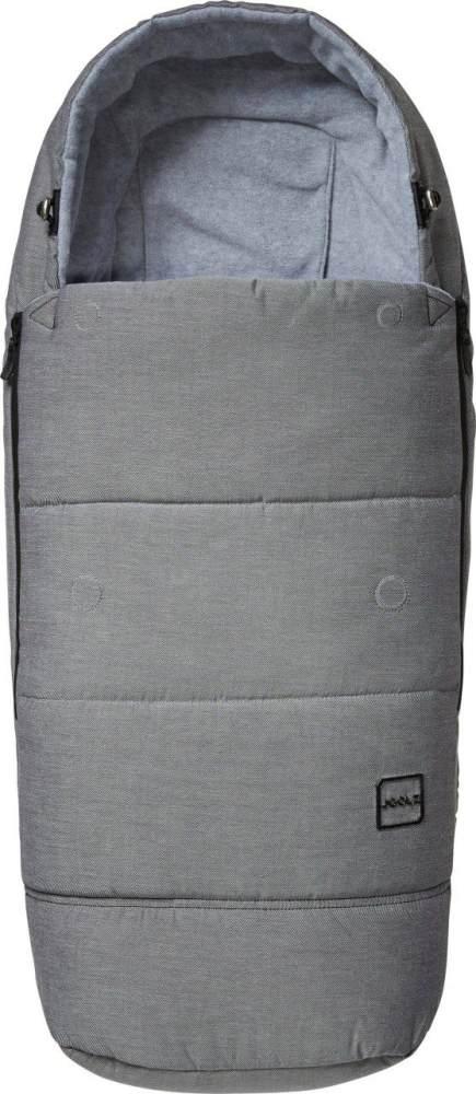 Joolz Fußsack Superior Grey 2020, ganzjährig einsetzbar, universell einsetzbar Bild 1