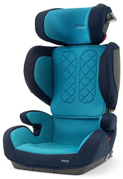 Recaro 'Mako' Kindersitz 2020 Xenon Blue i-Size 100 - 135cm Bild 1