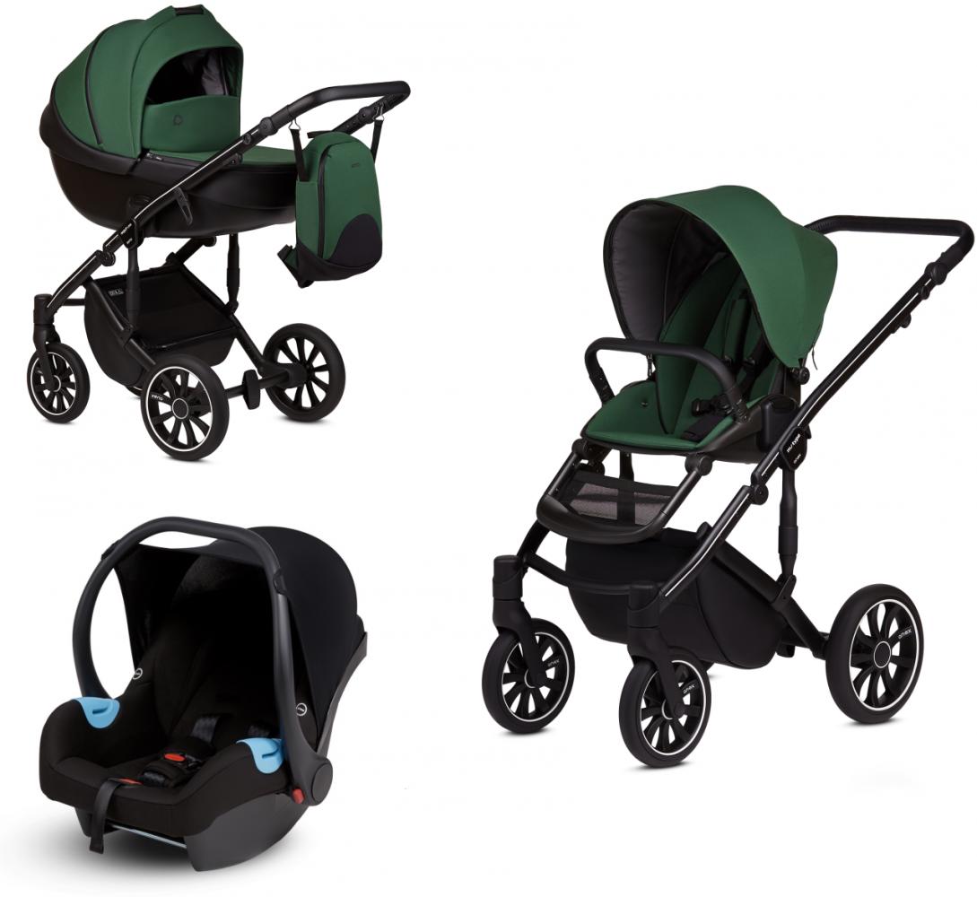 Anex 'm/type' Kombikinderwagen 2020 Lime inkl. Babyschale Bild 1