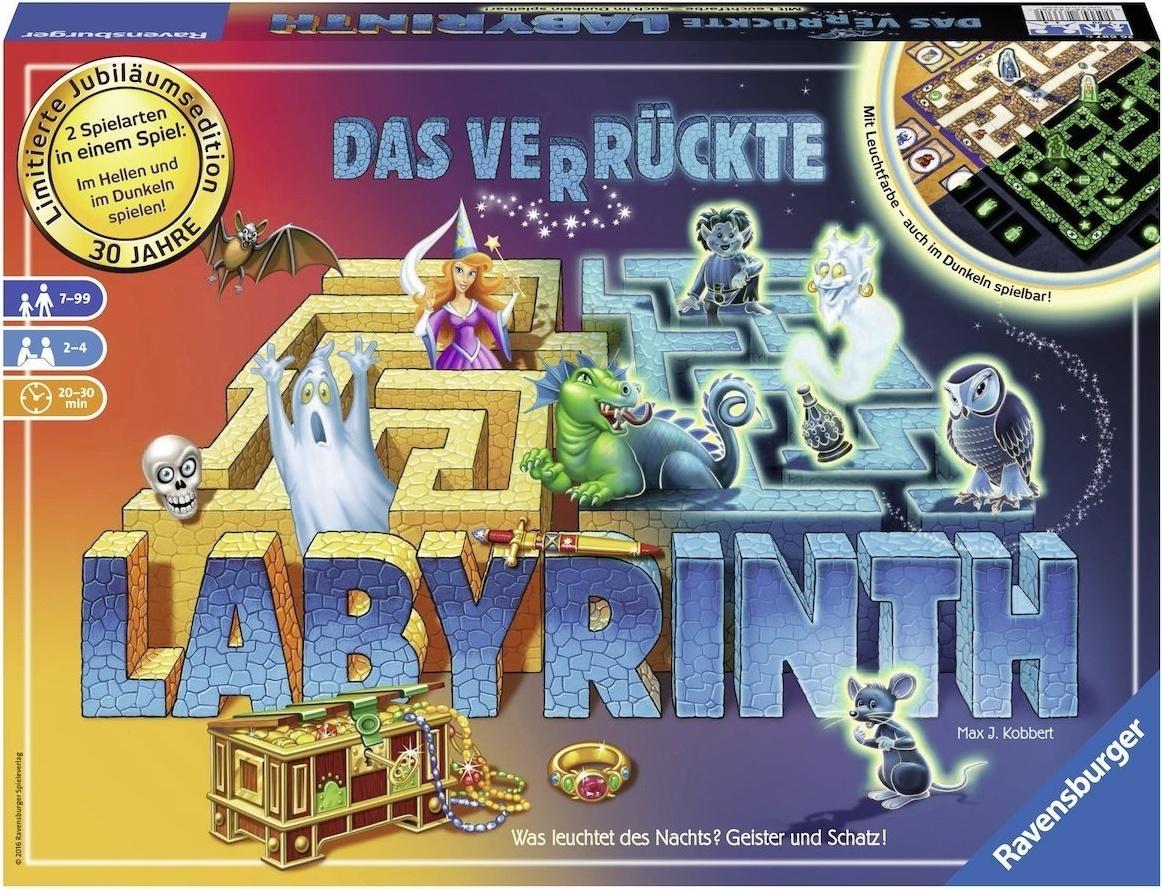 Ravensburger 26687 - Das verrückte Labyrinth - Jubiläums-Version Bild 1
