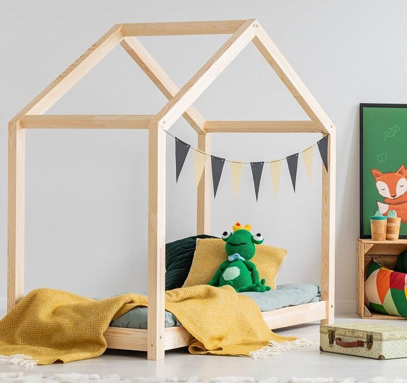 Best For Kids Hausbett X 90x160 natur Bild 1