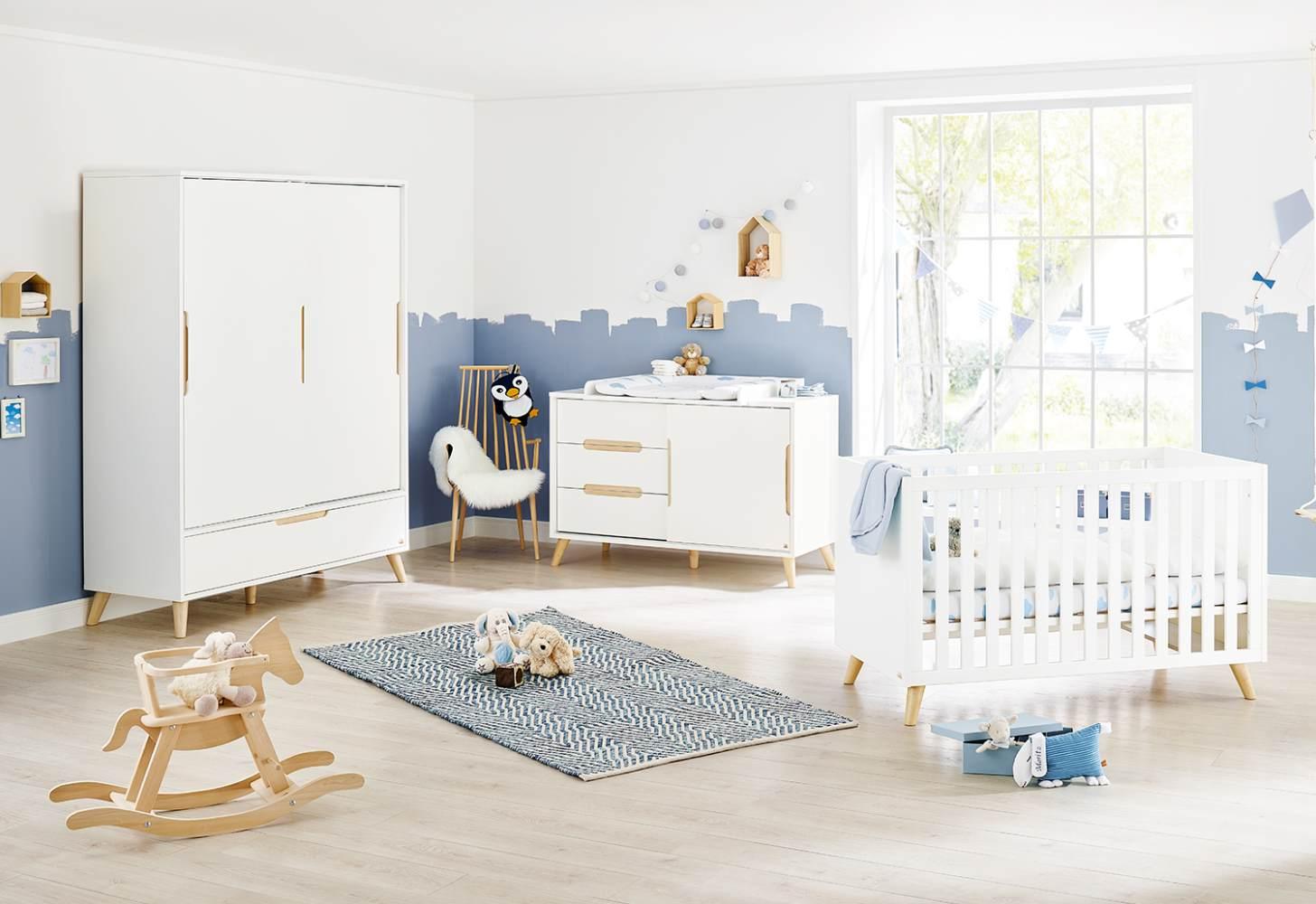 Pinolino 'Move' 3-tlg. Kinderzimmer-Set extrabreit, groß Bild 1