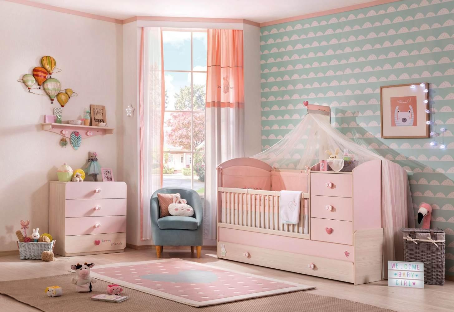 Cilek 'Baby Girl' 3-tlg. Babyzimmer-Set Bild 1