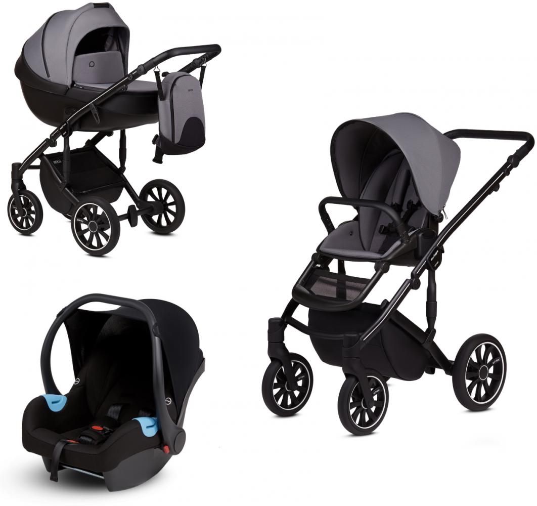 Anex 'm/type' Kombikinderwagen 2020 Iron inkl. Babyschale Bild 1
