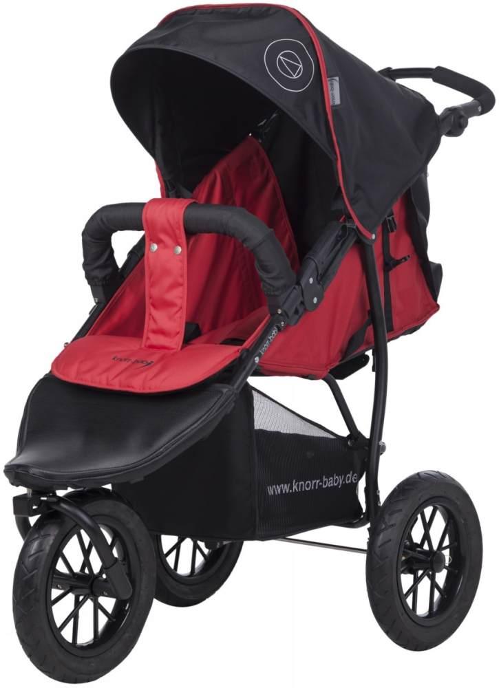 Knorr Baby Sportkinderwagen 'Joggy S' 2020 in Rot, inkl. Verdeck und Einkaufsnetz Bild 1