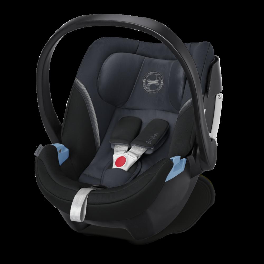 CYBEX 'Aton 5' Babyschale 2020 Graphite Black von 0 bis 13 kg (Gruppe 0+) Isofix Bild 1