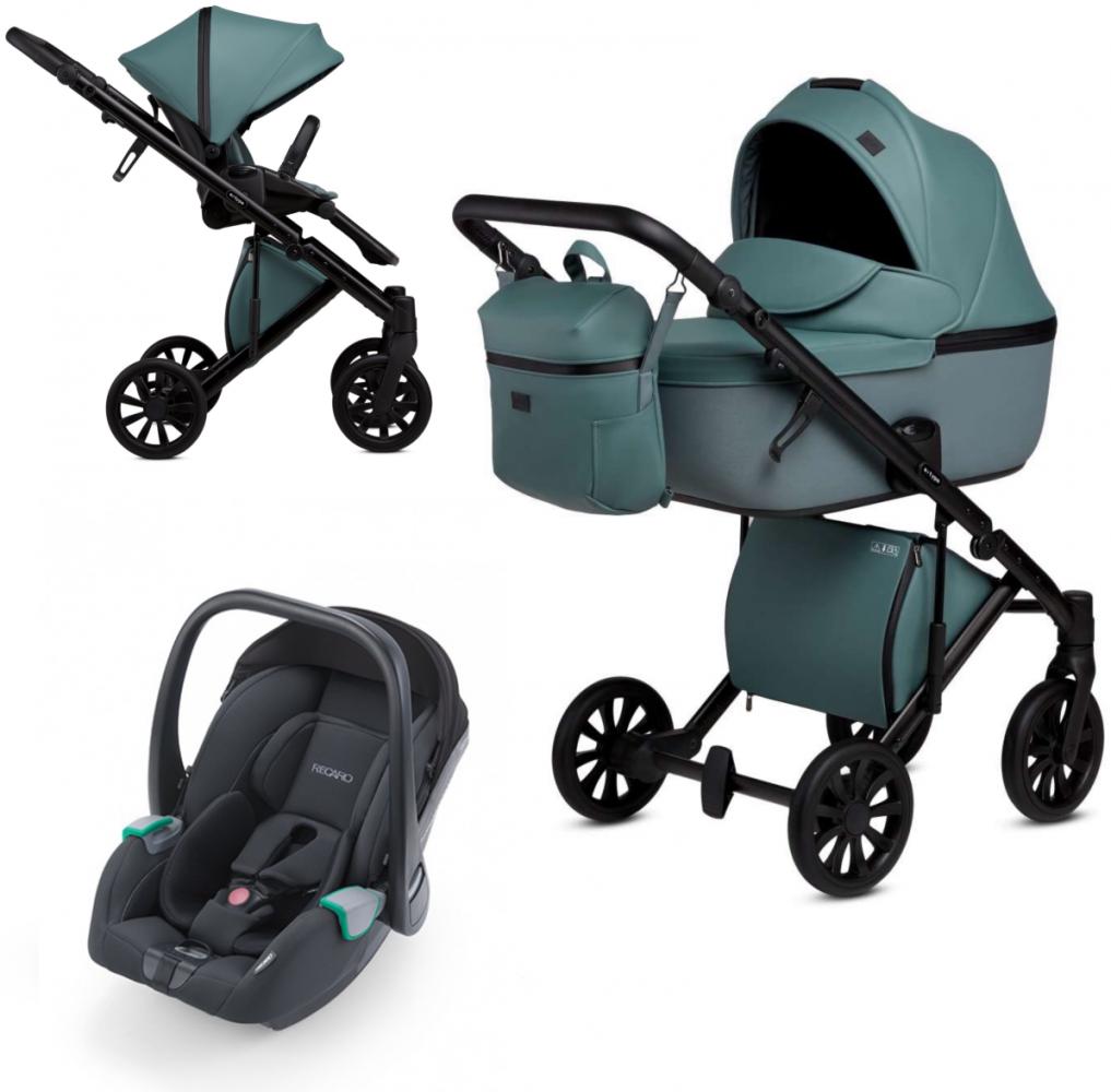 Anex 'e/type' Kombikinderwagen 2020 Aqua inkl. Recaro 'Avan' Babyschale Bild 1