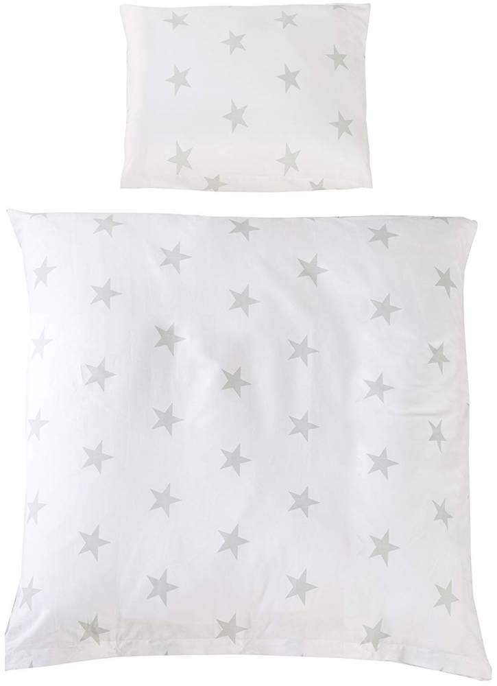 Roba 'Little Stars' Wiegenbettwäsche 80 x 80 cm/35 x 40 cm Bild 1