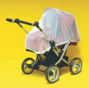 Sunnybaby 10169 Insektenschutznetz für Kinderwagen, komplett geschlossenes Modell - Farbe: WEISS Bild 1
