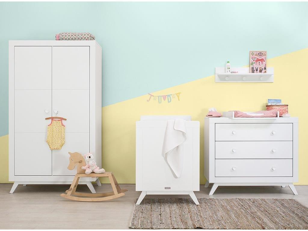 BOPITA 'Fiore' 4tlg. Babyzimmer Set, weiß Bild 1