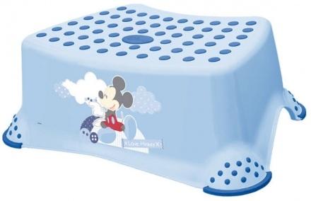 Tritthocker OKT Mickie Mouse hellblau (Baby Plus) Bild 1
