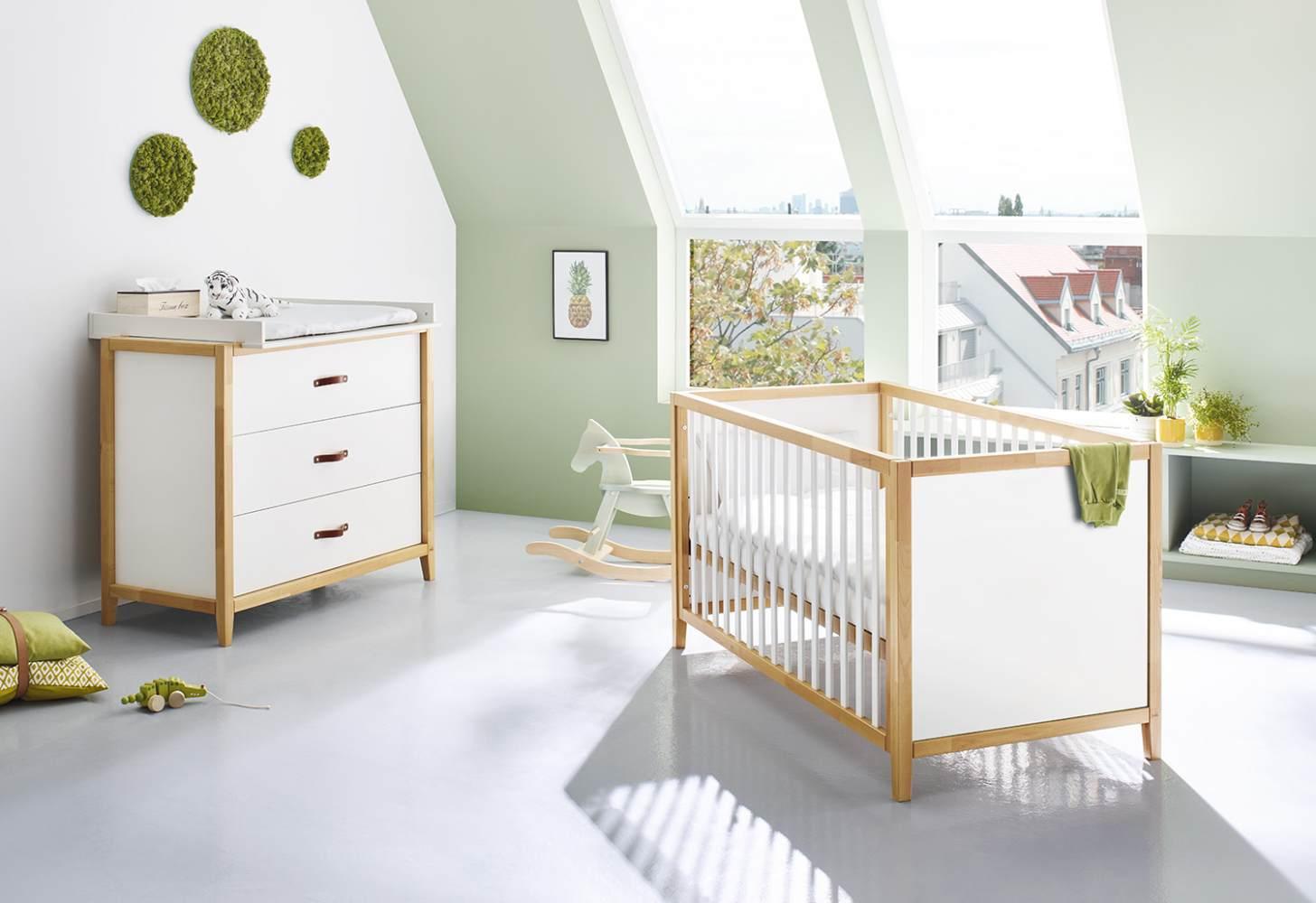 Pinolino 'Calimero' 2-tlg. Babyzimmer-Set weiß Bild 1