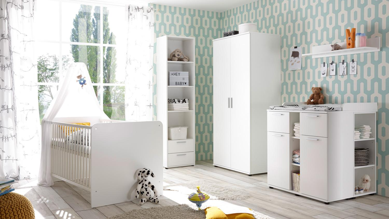 Bega ' BIBO' 5-tlg. Babyzimmer-Setweiß Bild 1